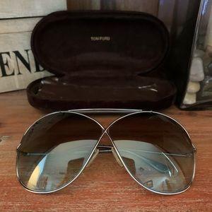 NWOT Tom Ford 'Catherine' aviator sunglasses